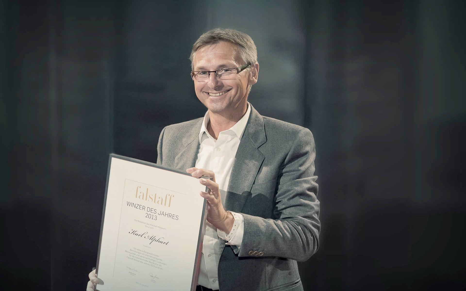 Karl Alphart winzer des jahres 2013